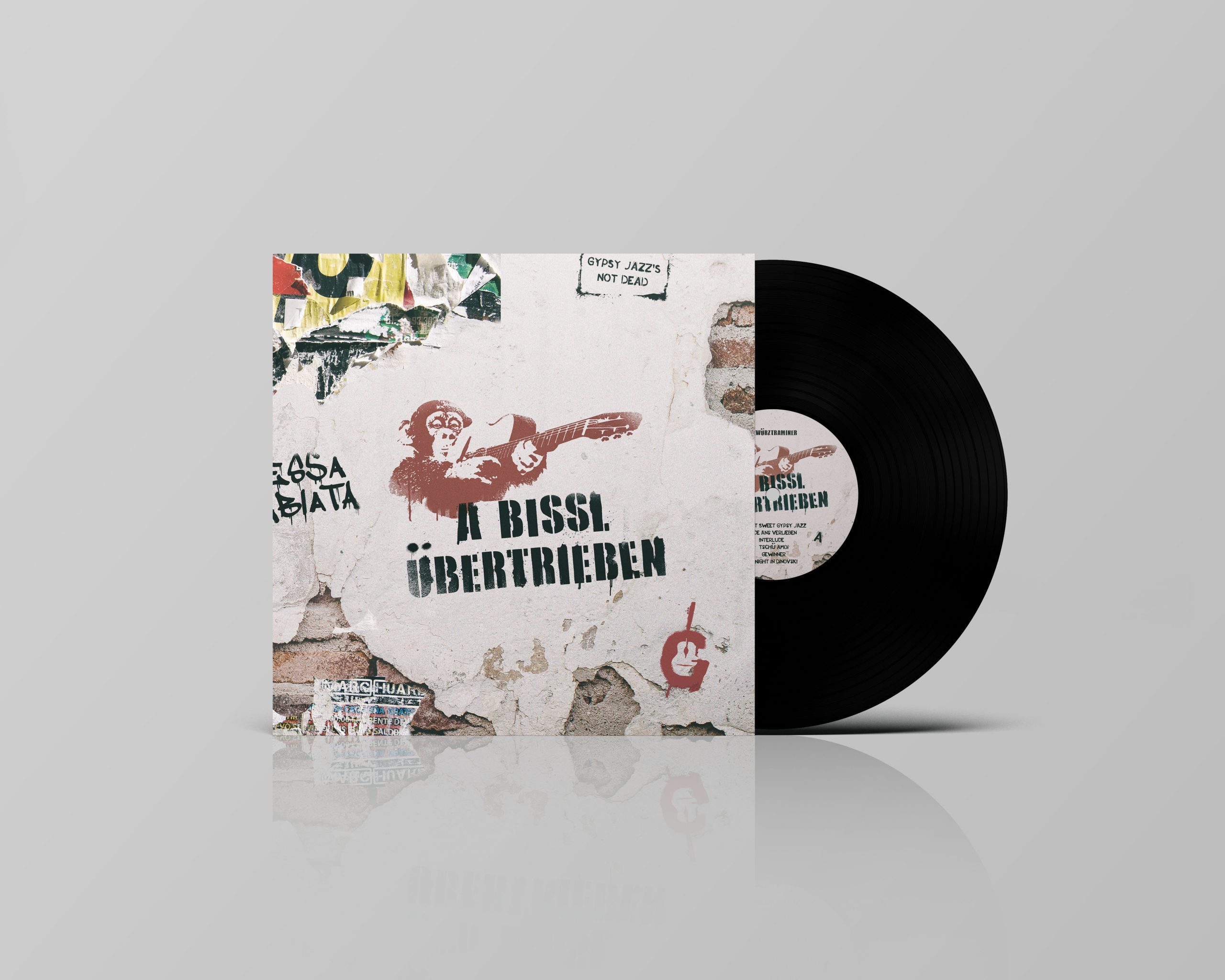 "Limited Edition 12"" Gatefold Vinyl - € 18,-"