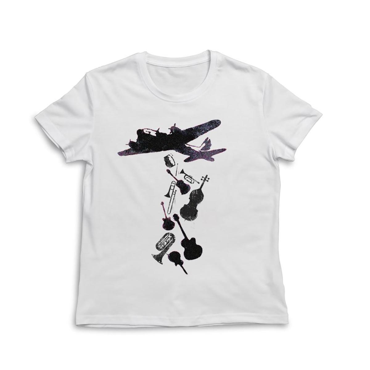"""""""Bomber"""" T-Shirts Herren/Damen (weiß) - € 20,-"""